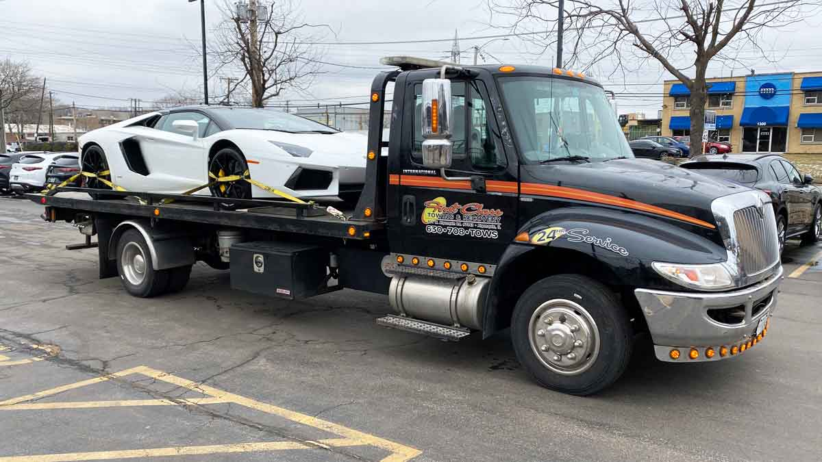 Exotic Car Hauling, Stance Vehicle Towing, Algonquin & McHenry Co.