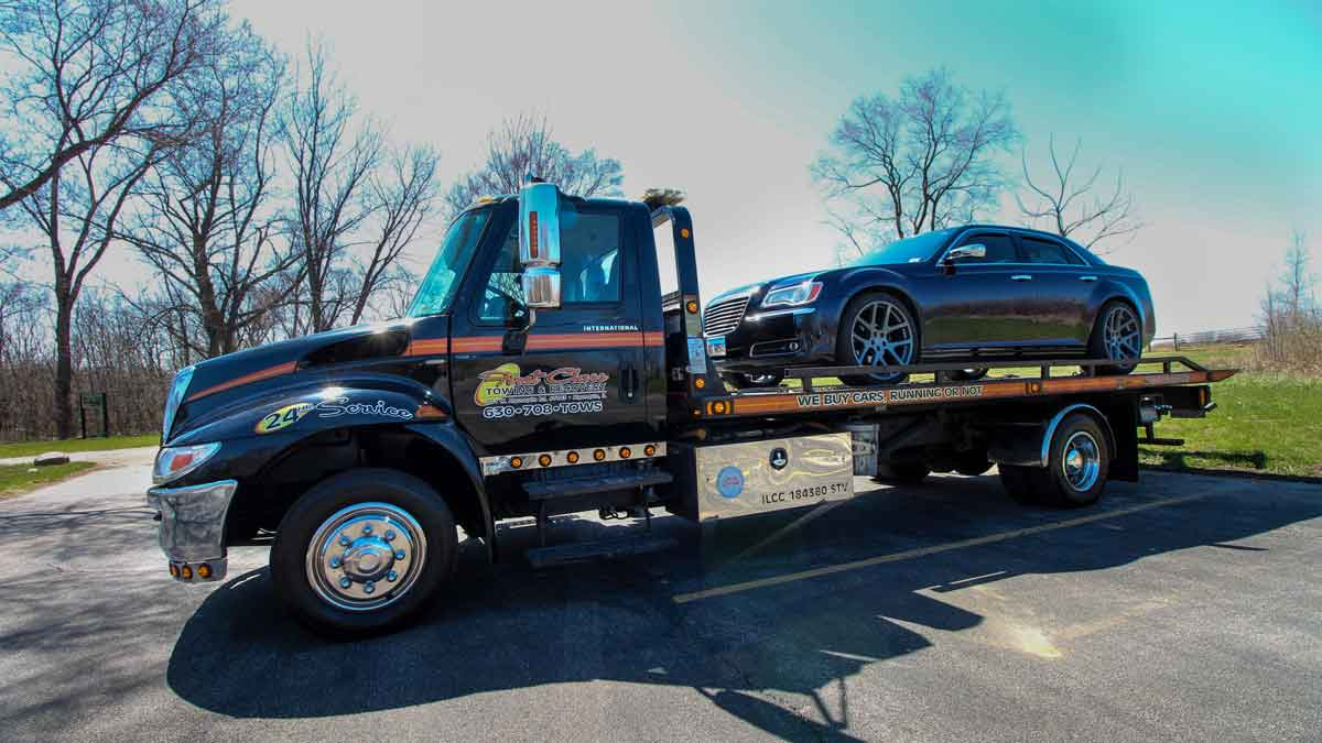 Luxury Car Towing Cary, IL