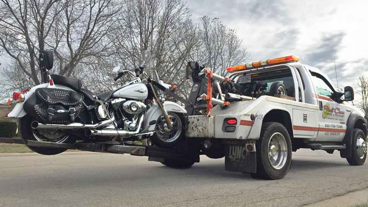 Local Motorcycle Towing